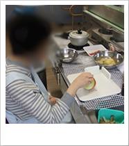 調理訓練-指導・実践-(がん退院支援)